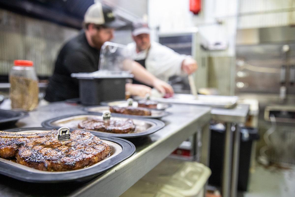 Hickory House steaks