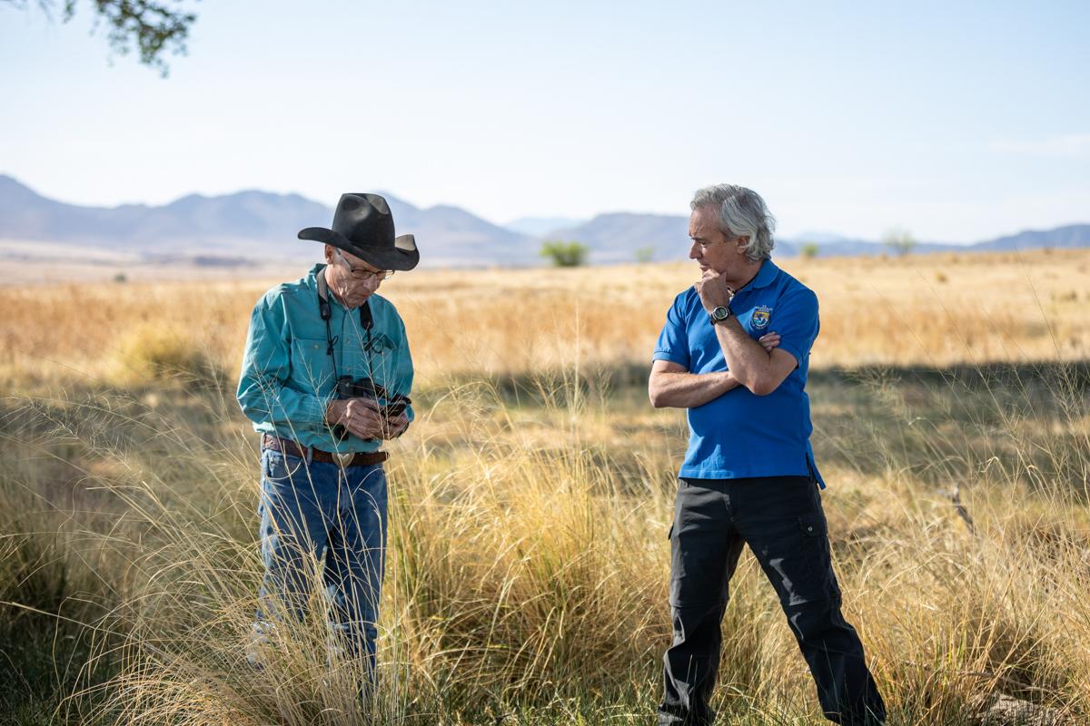 Ross Humphreys and Doug Duncan