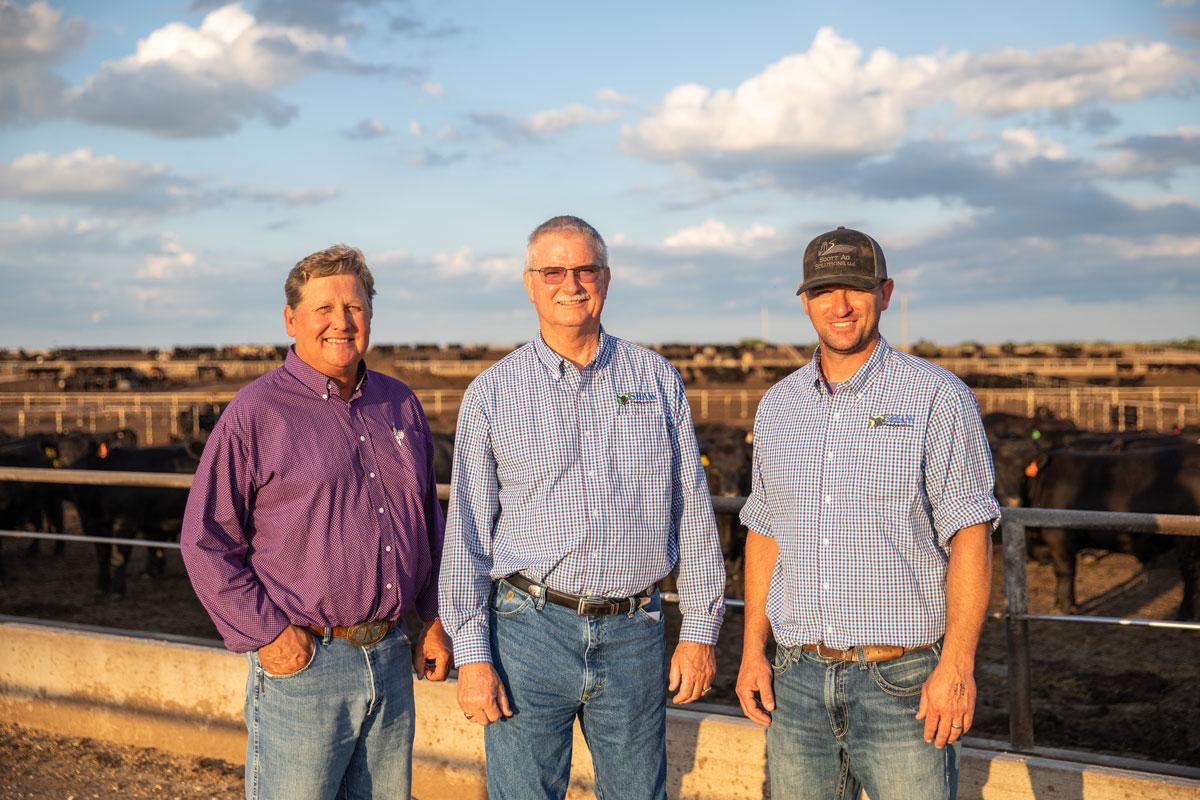 Kendall Hopp, Bill Shaw and Brett Shaw