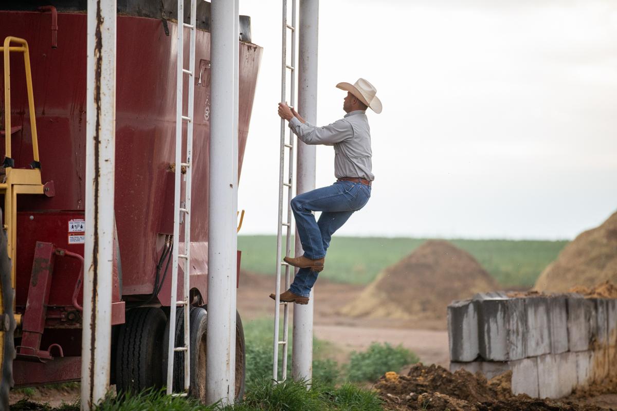 tyler woolfolk climbing grain bin